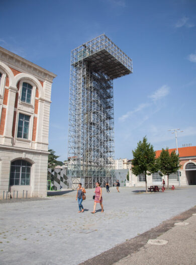 Saint-Etienne_tourisme&congres_Magali Stora (7) Cité du design tour d'observation