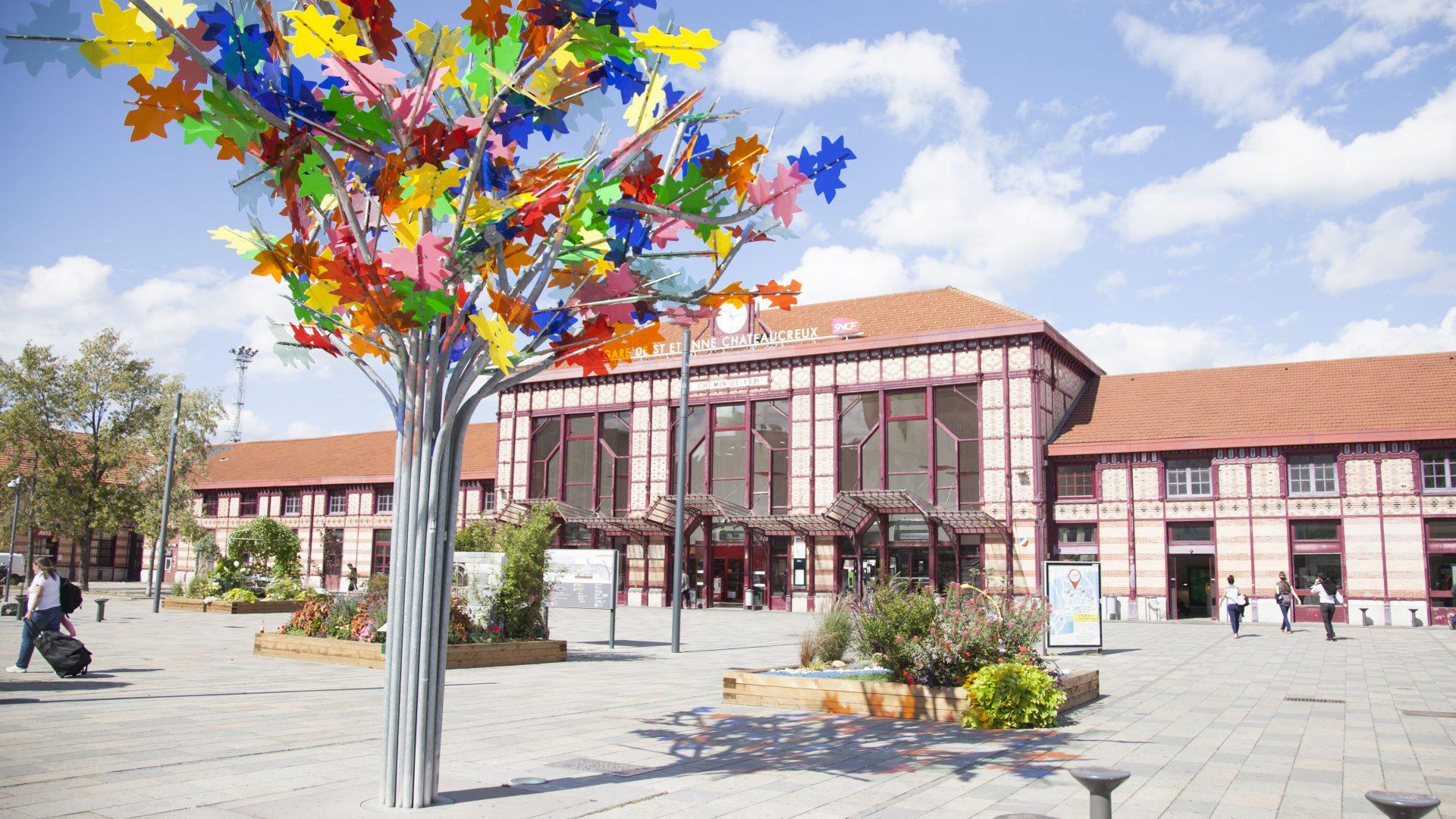 Magali Stora - Gare Châteaucreux