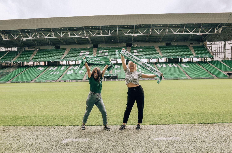 Les Pauline - Stade Geoffroy-Guichard