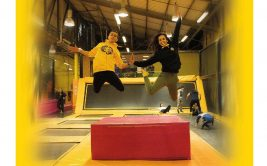 Espace multi-loisirs Trampoline Park Yellow Jump