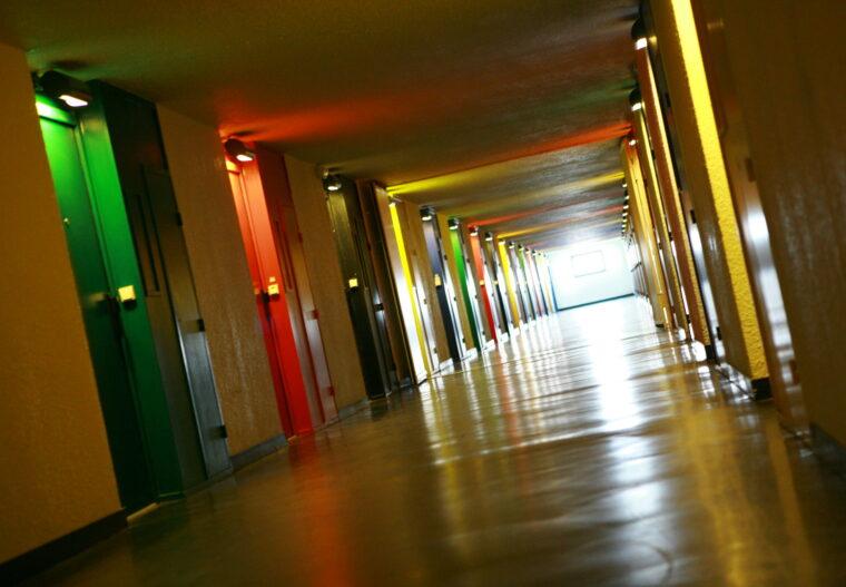 Firminy Unité d'habitation Le Corbusier Copyright Trenta Totem Fondation Le Corbusier ADAGP Paris 2008_063