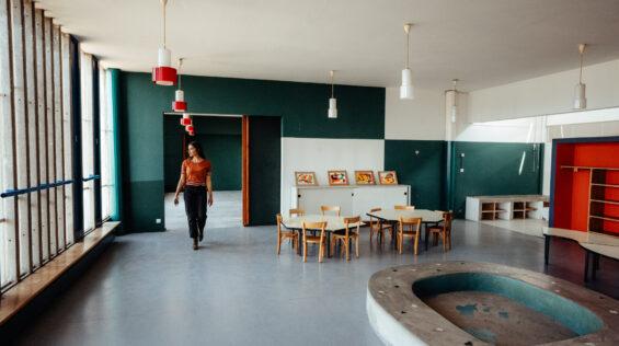 Saint-Etienne HD-60 Site le Corbusier