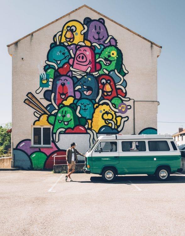 Roche-la-Molière Street Art