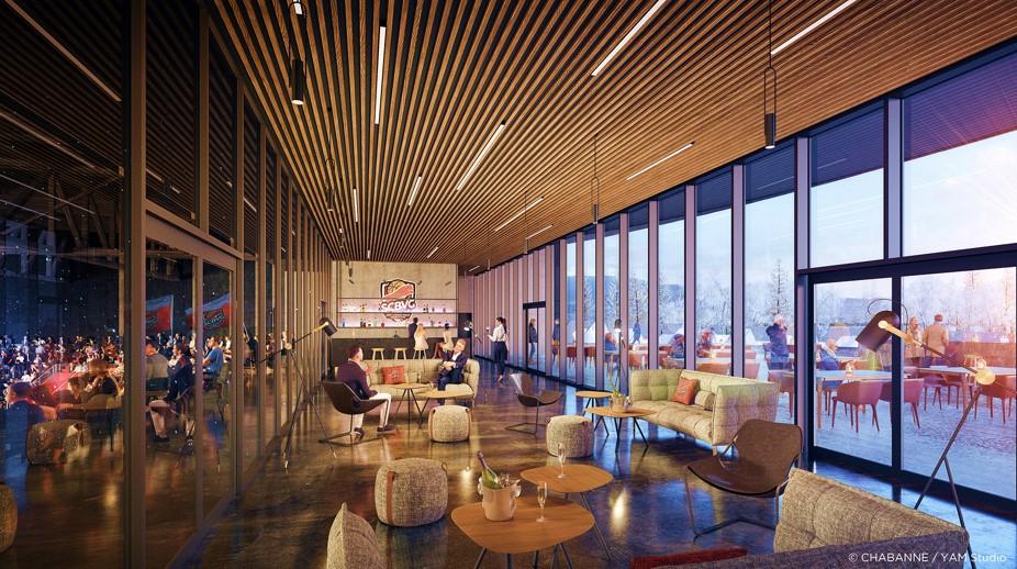 visuel arena salon vip second étage